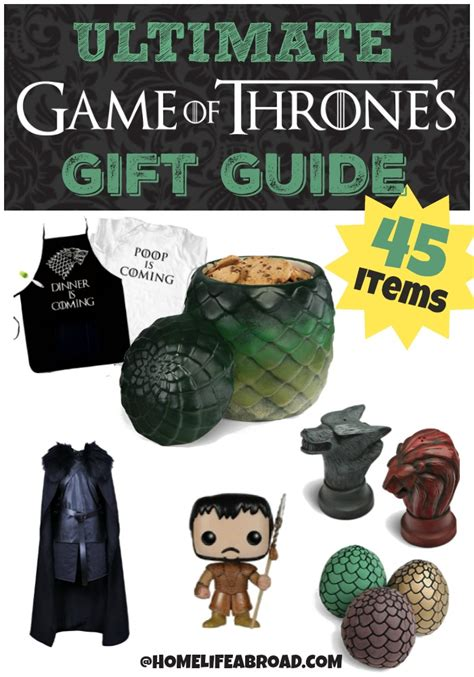 Game Of Thrones Gifts the ultimate guide to game of thrones gifts