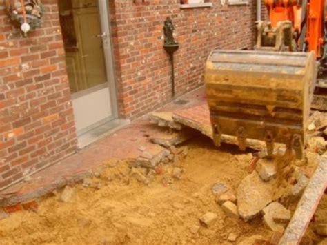 tegels uitbreken bouw uitbreken terras zoekertjes net