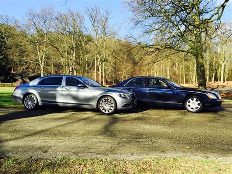 mercedes maybach s600 vs maybach 57 by autovisie tv