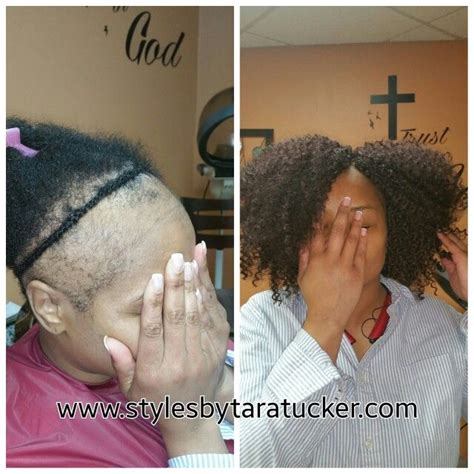 crochet style on balding hair crochet braids on thinning and balding hair my work