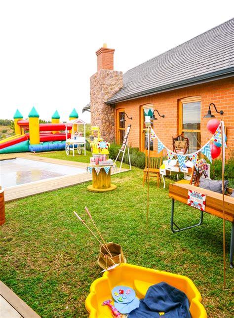 backyard carnival party backyard carnival party