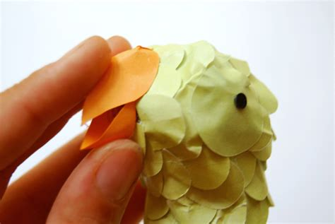 How To Make A Bird Beak Out Of Paper - the paper decorations for a summer garden