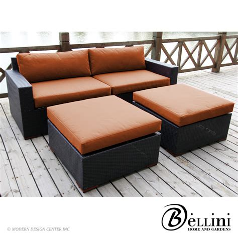 bali seating sofa and ottoman set w77304 bellini