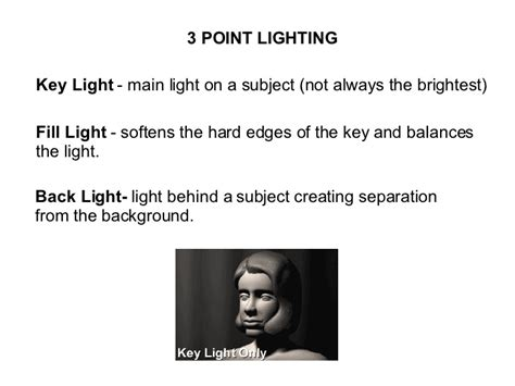 Lights For Filming by Lighting Kinds Of Lights