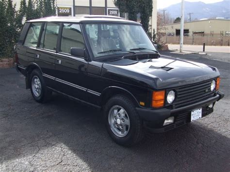how to work on cars 1994 land rover defender 90 electronic throttle control 1994 land rover range rover information and photos momentcar