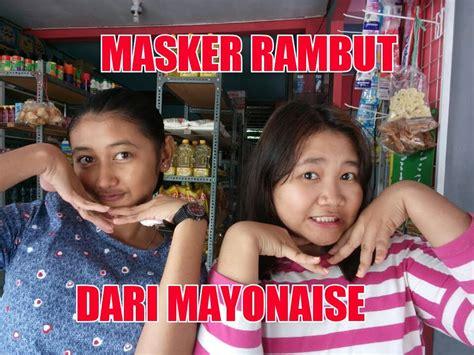Masker Rambut masker rambut dari mayonaise