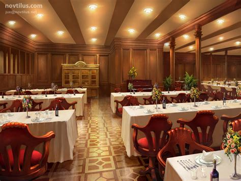 dining on the titanic 2nd class dining saloon of titanic by novtilus on