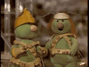 Fraggle Rock Meme - doozers gifs find share on giphy