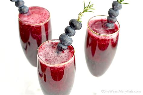 drink garnishes easy rosemary blueberry drink garnishes she wears many hats