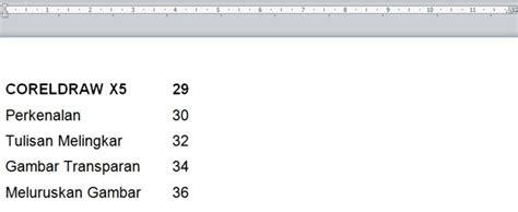 membuat daftar isi ms word 2010 ms word membuat daftar isi sharing ilmu yuk