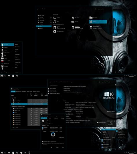 themes windows 10 skin version 2 for windows 10 anniversary update by gsw953onda