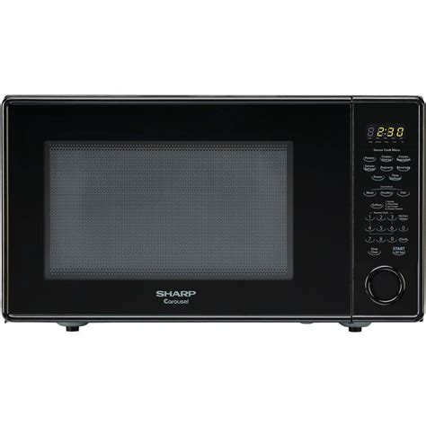 Microwave Sharp 399 Watt sharp carousel 1 8 cu ft 1100 watt countertop microwave