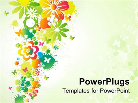 flower powerpoint template powerpoint templates flowers www pixshark images