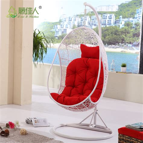 swing chair in bedroom indoor bedroom balcony sunroom rattan resin wicker ceiling