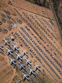 Military Boneyard Airplane Graveyard