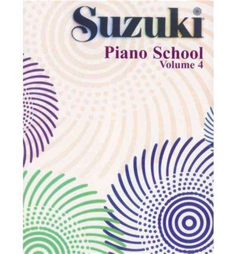 Suzuki Piano Book 4 Suzuki Piano School Vol 4 Alfred Publishing 9780874871630