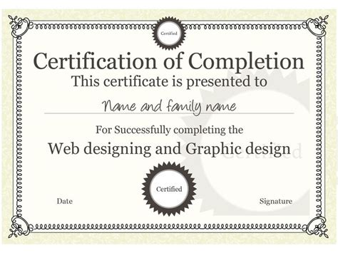 17 best images about certificate templates on pinterest