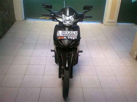 Lu Depan Vixion Philips modifikasi motor absolute revo black modifikasi motor