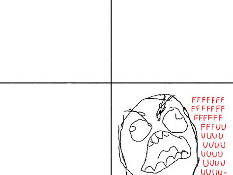 Meme Comic Template - rage comic template