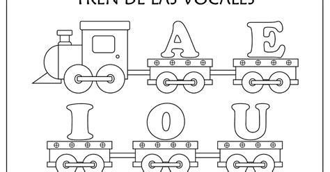 paginas con imagenes sin copyright fichas de educaci 211 n preescolar tren de las vocales para