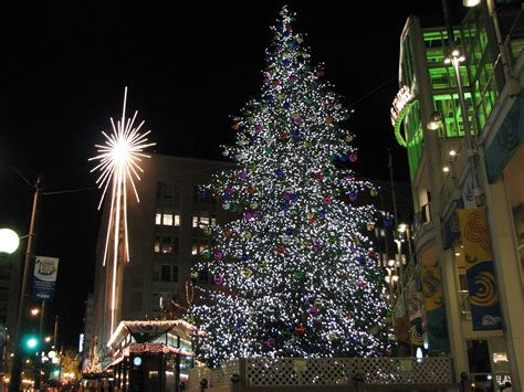 christmas tree lighting seattle in seattle ships events lights installation trees 2016 2017