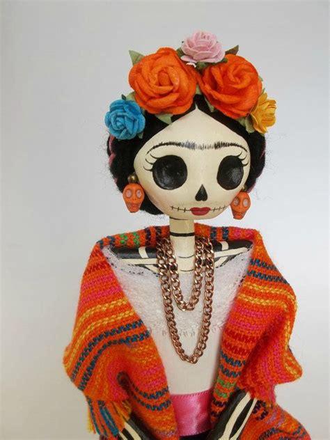 imagenes de calavera frida kahlo reserved listing yann huet frida kahlo catrina doll