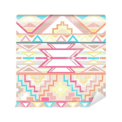 aztec pattern png abstract geometric seamless aztec pattern wall mural