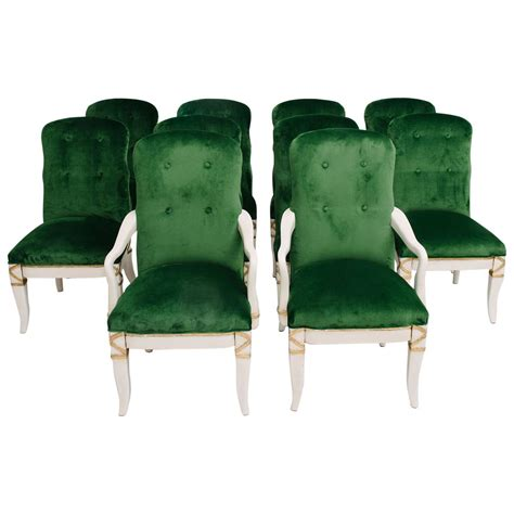 set of 10 marge carson dining chairs for sale at 1stdibs