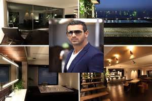actors houses model actor producer john s abraham owns an extremely