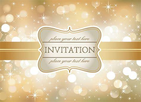 Gorgeous invitation letter cover   Advertising Design