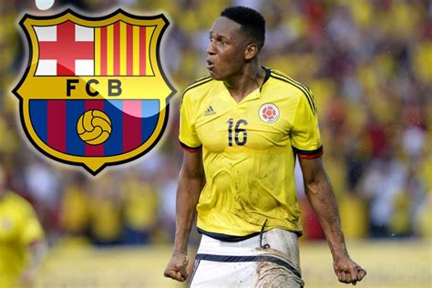 yerry mina barcelona transfer news director travels to brazil to