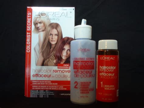 hair color remover while l oreal colorist secrets hair color remover