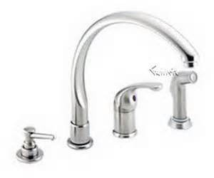delta 174 mcwf waterfall single handle kitchen faucet