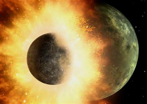 como era la tierra al principio de su formacion teor 237 a de la formaci 243 n de la por colisi 243 n