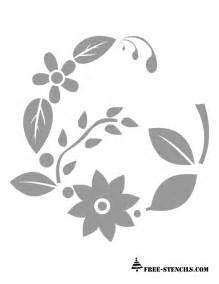 Printable Stencils Free Printable Floral Patterns Stencils