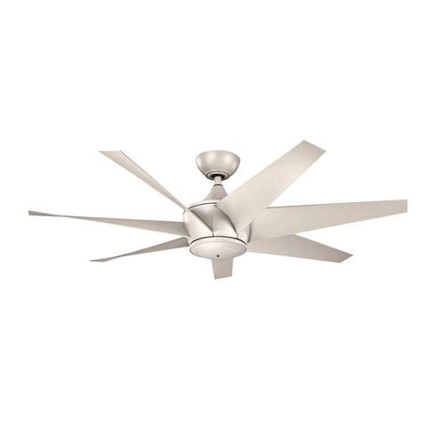 silver ceiling fan with light kichler lighting lehr ii antique satin silver ceiling fan