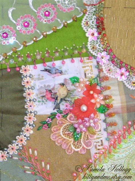 Patchwork Embroidery Stitches - 380 best images about quilting ideas on