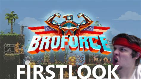 broforce full version youtube broforce first look this game is bro tastic youtube
