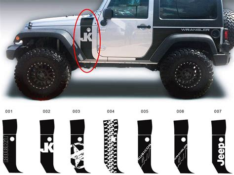 jeep wrangler stickers jeep wall decals elitflat