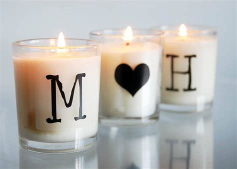 Where Can I Buy H And M Gift Cards - alphabet candle by door 77 notonthehighstreet com