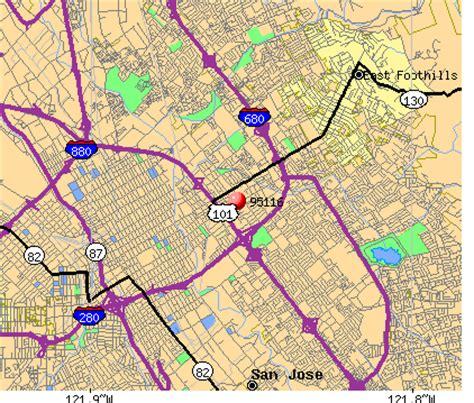 san jose demographics map 95116 zip code san jose california profile homes