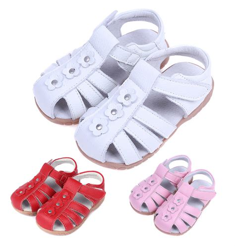 closed toe toddler sandals children shoes shoes genuine leather sandals