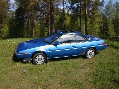 1986 subaru xt jl9816 1986 subaru xt specs photos modification info at