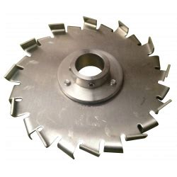 F Blade Sawtooth Dispersion Blade For High Speed Dispersers