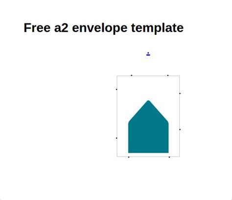 sle a2 envelope template 7 documents in word pdf