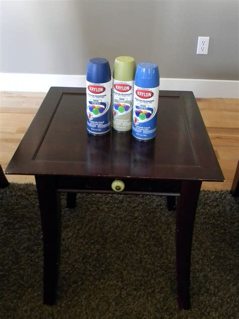spray painter for furniture painted thrifted table organize and decorate everything