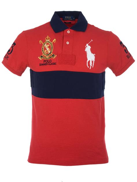 Polo Ralph Laurent polo ralph summer classic polo shirt a6412