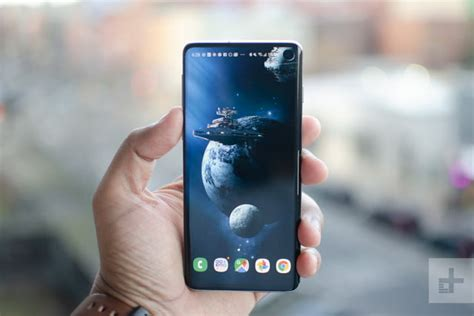 Samsung Galaxy S10 Review by Samsung Galaxy S10 Review The Middle Child Digital Trends