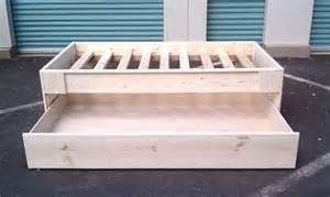 Diy Platform Bed Frame With Trundle Pdf Diy Platform Bed With Trundle Plans