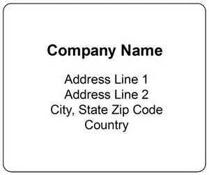 standard shipping label label templates shipping
